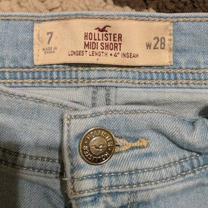 Hollister Shorts - Hollister Midi jean short (7)
